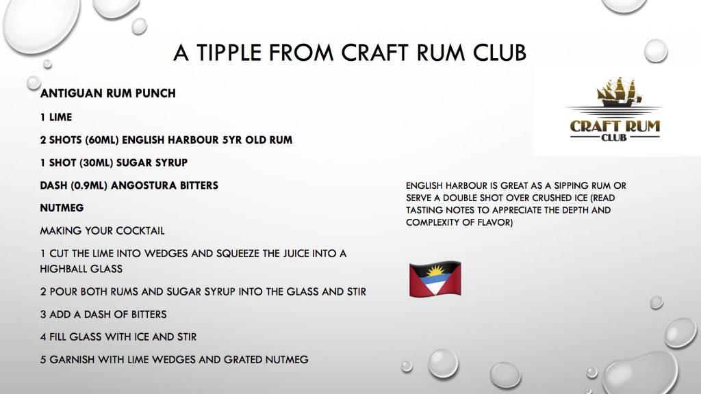 July's surprise box of Rum - Craft Rum Club | Rum Club | Rum