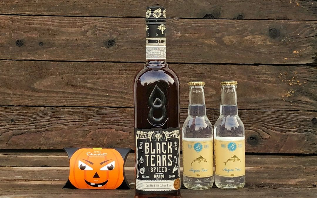 Black Tears Spiced Rum – October's Box