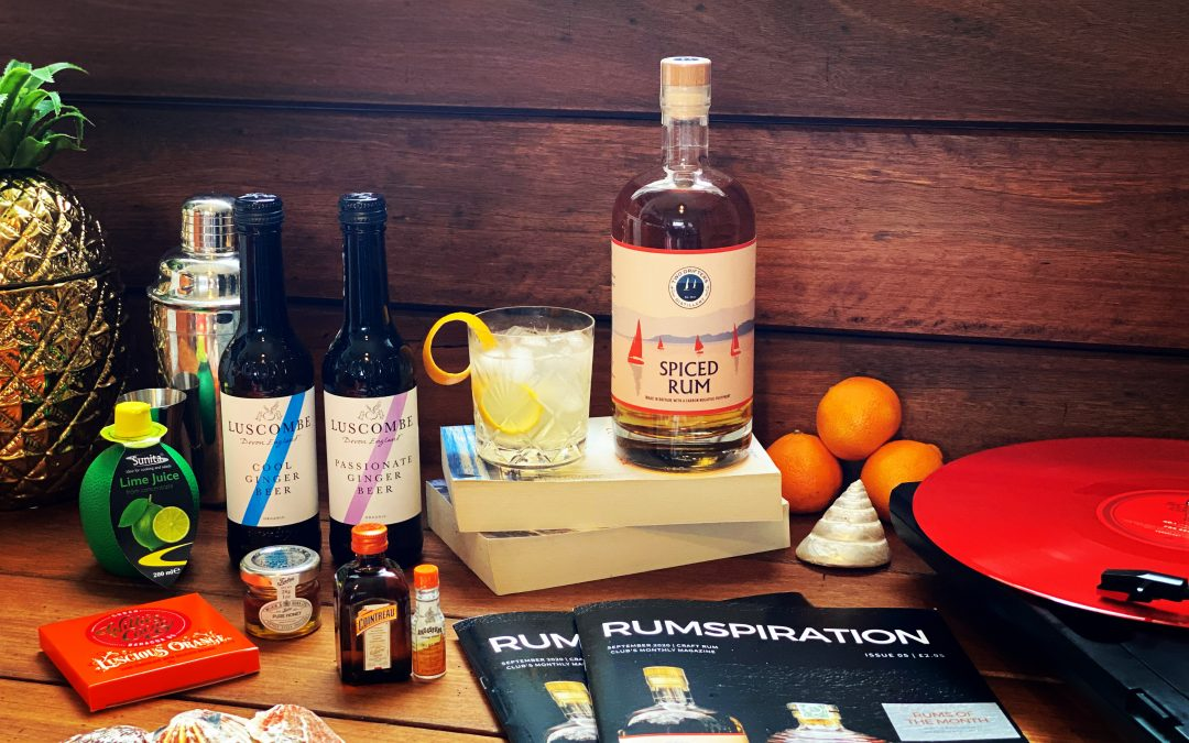 Craft Rum Box September's Spiced Rum of the Month – Two Drifters