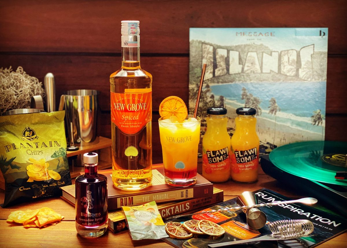 Craft Rum Box October's Spiced Rum of the Month – New Grove Exotic – EXCLUSIVE Mauritian rum for our Members
