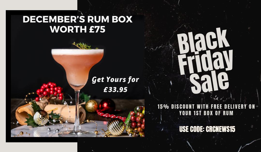 Black Friday Super Deal at Craft Rum Club worth £75