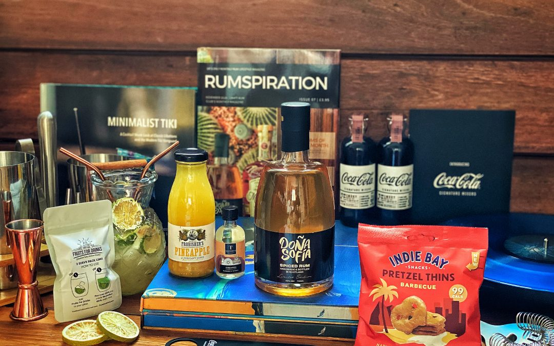 Craft Rum Box November's Exclusive Spiced Rum of the Month – Dona Sofia