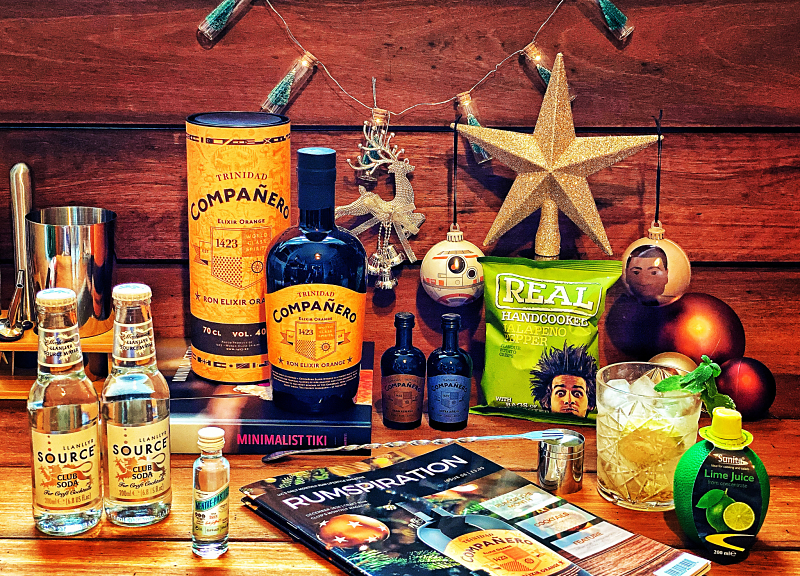 Craft Rum Box December's Rum's of the Month from Companero