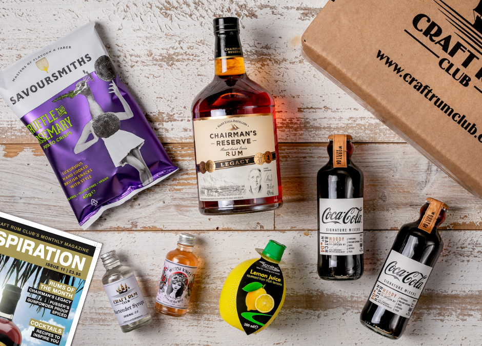 Chairman's Reserve Legacy launches with Craft Rum Club in March