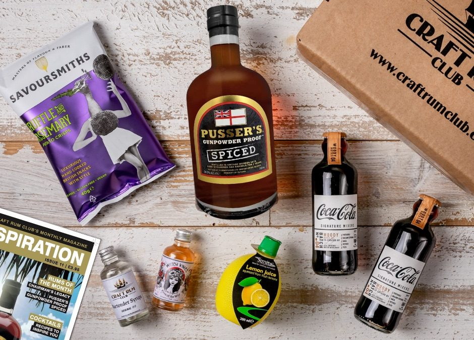 March's Spiced Rum from Pusser's launches with Craft Rum Club