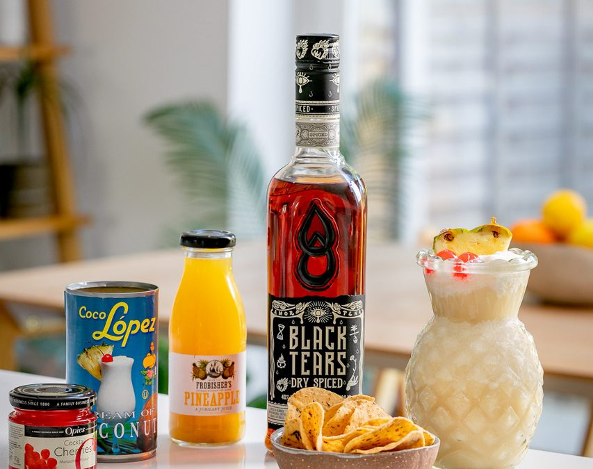 Black Tears Dry Spiced showcases in Craft Rum Club April's Spiced Box