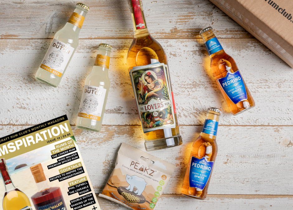 June's Surprise Box of Rum comes from The Lovers Rum