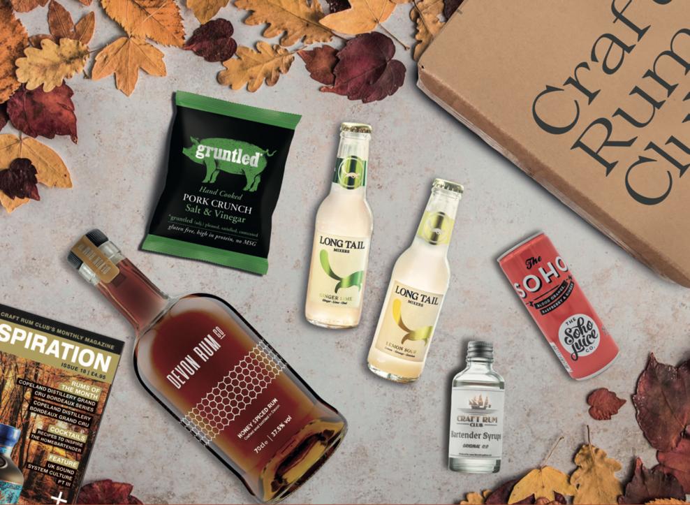 October's Honey Spiced Rum